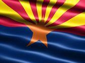 Flag of the state of Arizona — Stock Photo
