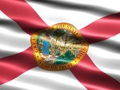 Flag of the state of Florida — Stock Photo