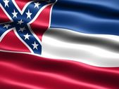 Flag of the state of Mississippi — Stock Photo
