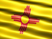 Bandera del estado de new mexico — Foto de Stock
