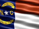 Flag of the state of North Carolina — Stock Photo