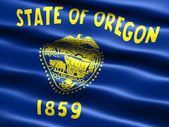 Flag of the state of Oregon — Stock Photo
