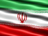 Flag of the Islamic Republic of Iran — Stock Photo