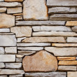 Decorative Rock Wall — Stock Photo #2852459
