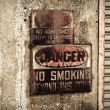Danger No Smoking Sign — Stock Photo #3610635