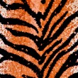 Tiger Print Background — Stock Photo #3712209
