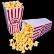 Theater Popcorn For Two - Stock Photo