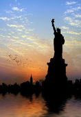 Liberty Statue — Stock Photo