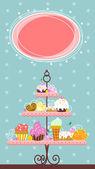 Fine Dessert Banner — Stock Vector
