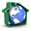 Earth Sweet Home — Stock Photo