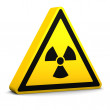 Radioactive Sign — Stock Photo #2851096