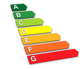 Energy Performance Scale — Stock Photo