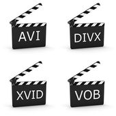 Video extension Files 01 — Stock Photo