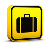 Square Baggage Sign — Stock Photo