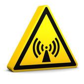 Non Ionising Radiation Sign — Stock Photo
