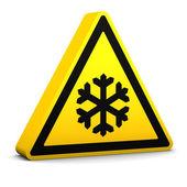 Low Temperature Sign — Stock Photo
