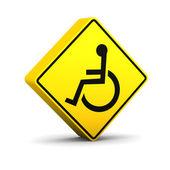 Handicap Sign — Stock Photo
