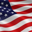 Royalty-Free Stock Photo: American Flag