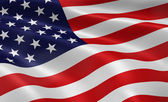 American Flag — Foto de Stock