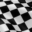 Checkered flag — Stock Photo #3245596