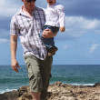 Dad and son — Stock Photo