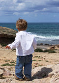 2-year-old boy — Stock Photo