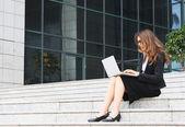 Podnikatelka — Stock fotografie