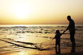 Pai e filho — Fotografia Stock