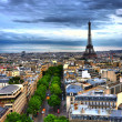 Stock Photo: Eiffel Tower HDR