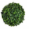 Green sphere from small leaf — Stock Photo