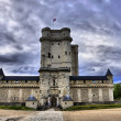 Stock Photo: Medieval castle Vincennes HDR