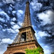 Eiffel tower, Paris HDR - Stock Photo