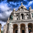 Stock Photo: Basilique du Sacre-Coeur Montmartre
