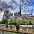 Stock Photo: Notre Dam, Paris, HDR