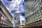 La Defense, Paris, HDR — Stock Photo