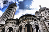 Basilique du Sacre-Coeur Montmartre — Stock Photo