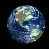 Belle terre - amérique dans l'espace — Photo
