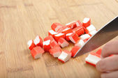 Surimi - Krebs-Finger — Stockfoto