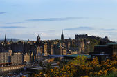 View on Edinburgh city — Stock fotografie