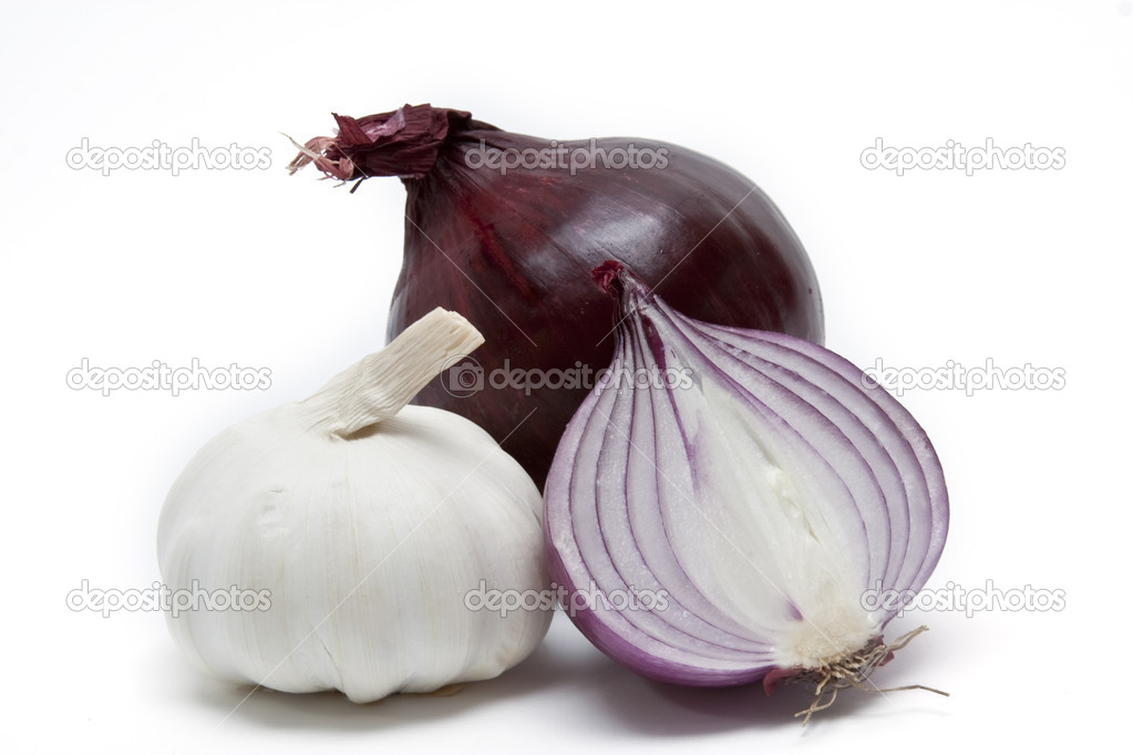 Onion and garlic — Stock Photo #2839740