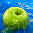 Apple water — Stock Photo