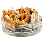 Cigarettes in an ashtray — Stock Photo