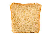 White bread isolated — Stock Photo