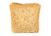 White bread isolated — Stock Photo