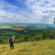 Mon hill looking at country — Stock Photo #3173264