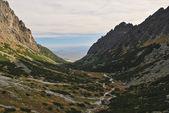 Mountain basin — Stock Photo