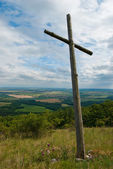 Inclined cross — Stockfoto