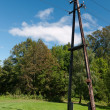Stock Photo: Power pole