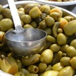 Green olives /cocktail/ — Stock Photo #2835277