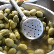 Green olives /cocktail/ — Stock Photo #2841219